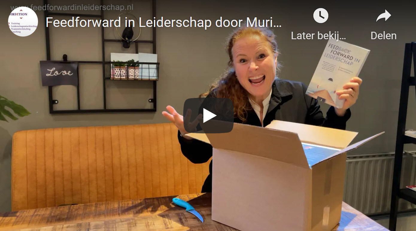 Video Feedforward in Leiderschap door Muriel Schrikkema
